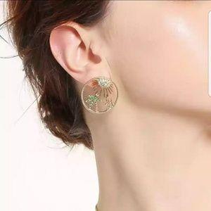 Palm trees earrings